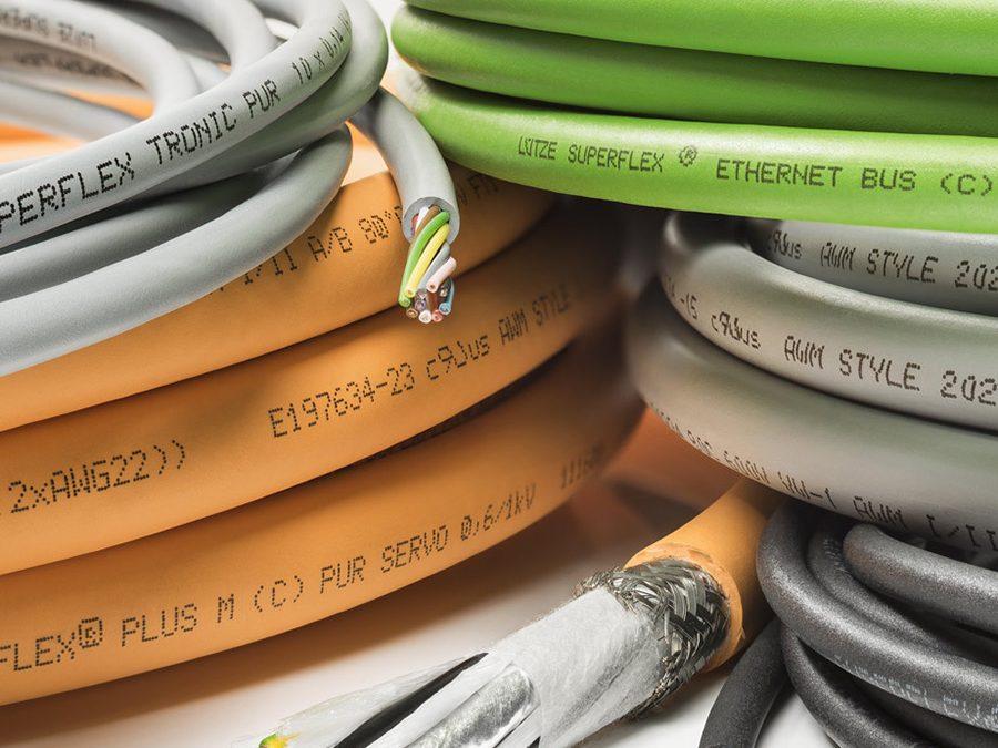 Tipos de cable más comunes en la industria
