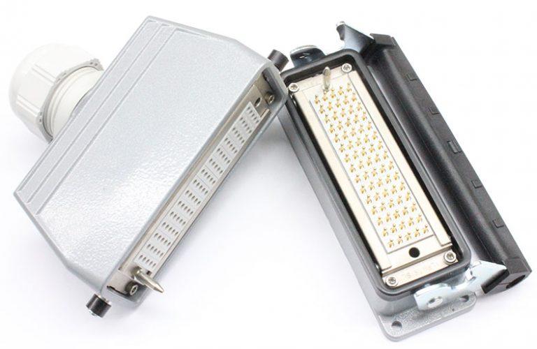 Conectores multicontacto rectangulares serie B-SME y B-SCT