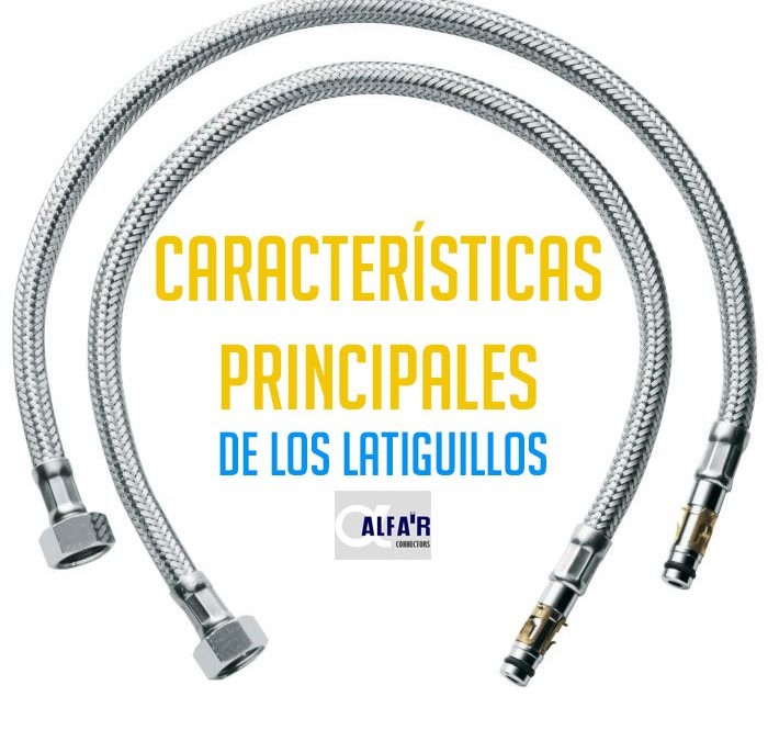 Características principales de los conexionados cable-conector