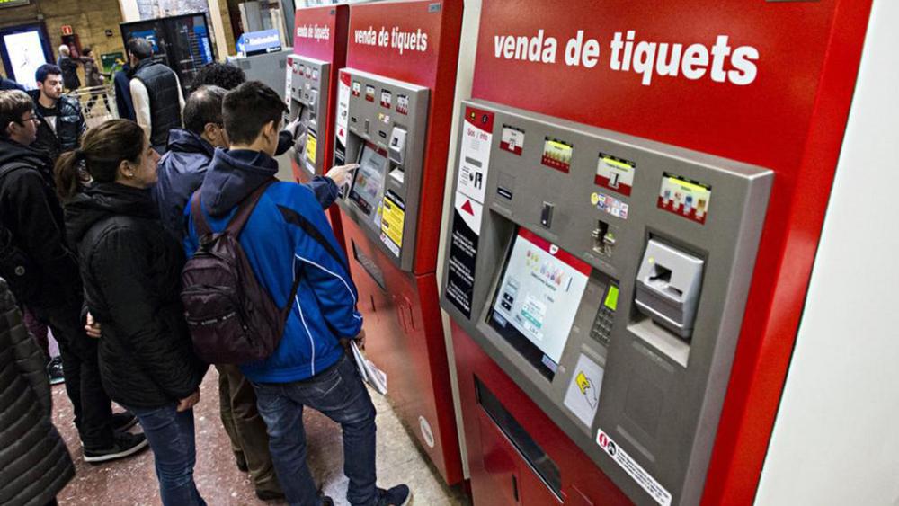 Conectores utilizados en las máquinas de vending de billetes y en las puertas de entrada de transportes públicos
