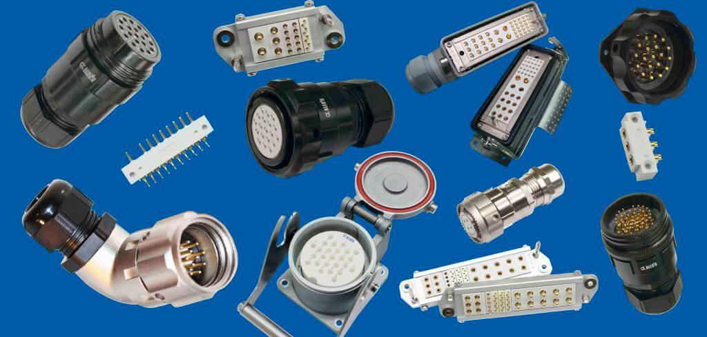 Conectores industriales multicontacto para las industrias