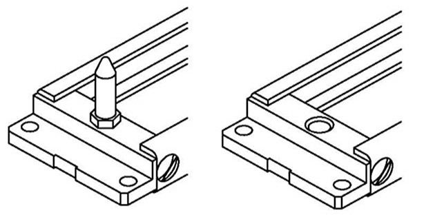 frame for B-SMF series rack connector