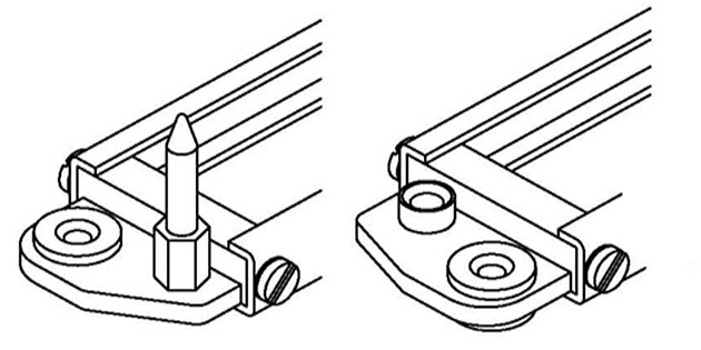 marco para conector rack serie B-SML