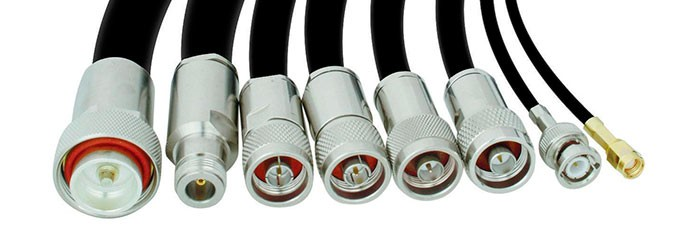 Composition of coaxial cables