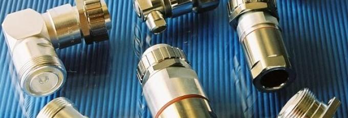 Connectors in the radio industry: RF Series 7/16 N